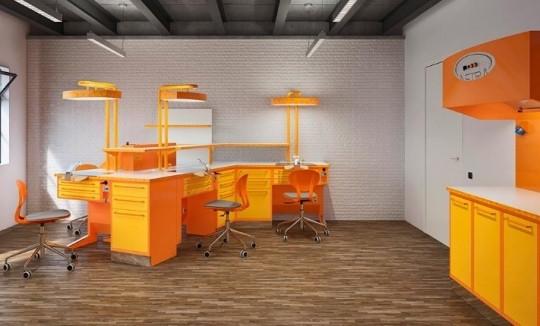 Медицинская стоматологическая мебель