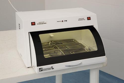 Бактерицидная ультрафиолетовая камера