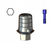 STCS-S16/S17 Титановая база CAD-CAM для S16/S17, SGS доставка из г.Москва