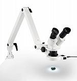 Зуботехнический микроскоп Eschenbach для работы в отраженном свете на металлическом шарнирном рычаге доставка из г.Москва