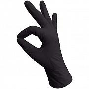 Перчатки нитриловые, черные, L, 100 шт, NitriMax ARCHDALE доставка из г.Москва